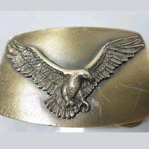 Vintage 1978 Flying American Eagle Belt Buckle